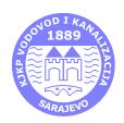 """KJKP """"Vodovod i kanalizacija"""" d.o.o. Sarajevo"""